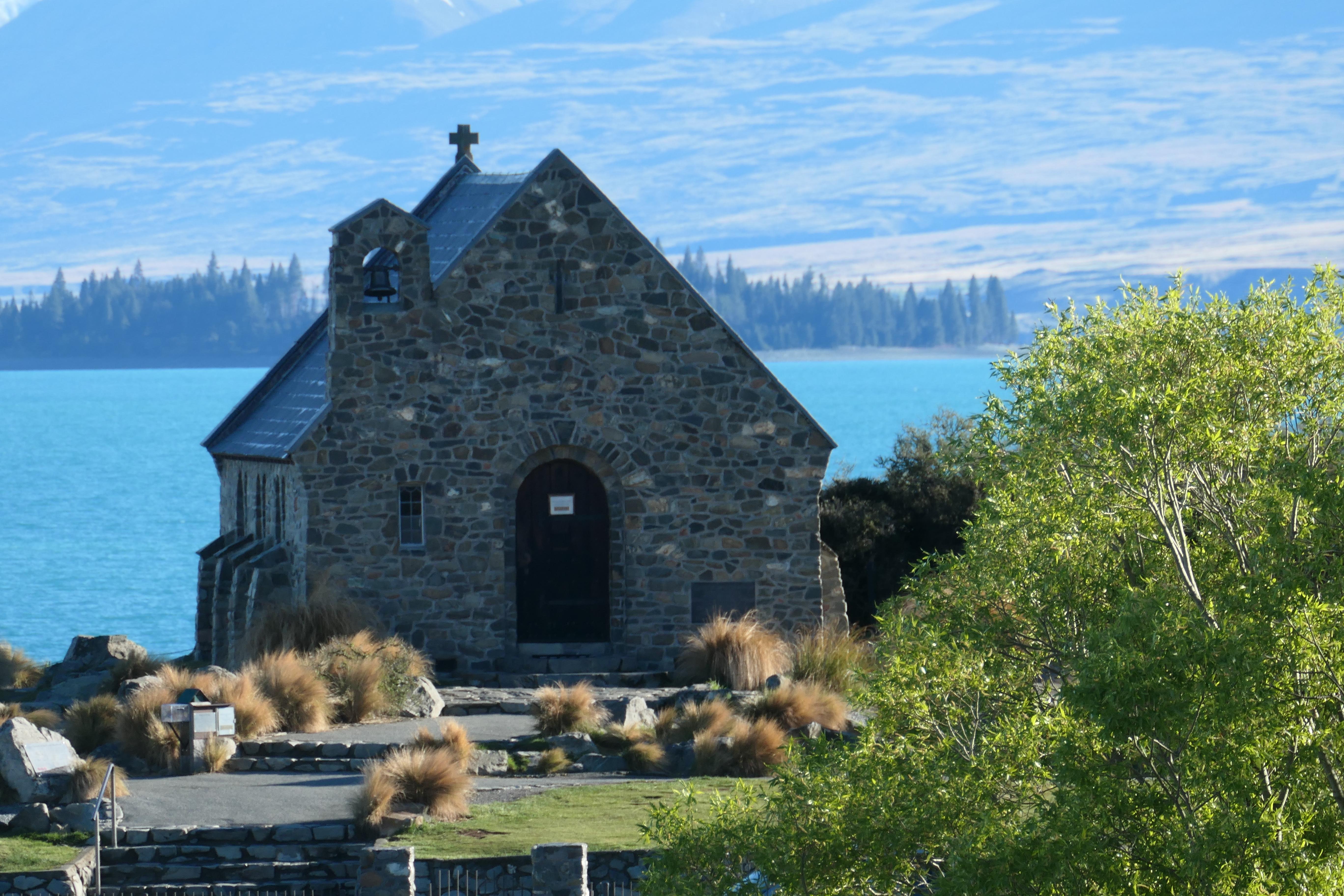 De kerk van de goede herder, Haig en Mt Cook